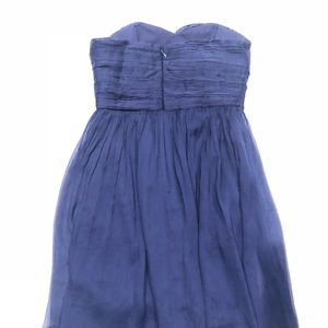 J. Crew Dresses - 🌴 J.Crew Navy elegant dress 6